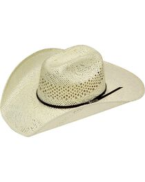Twister Weave Maverick Straw Cowboy Hat, , hi-res