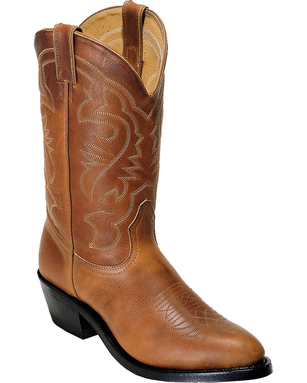"""Boulet Men's 13"""" Challenger Nitrile Sole Cowboy Boots, Sand, hi-res"""