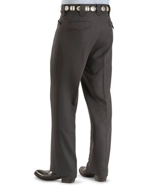 Circle S Men's Dress Ranch Pants, Grey, hi-res