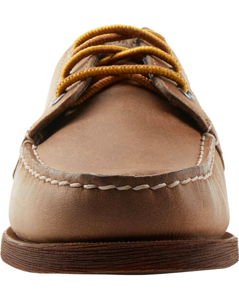 Eastland Women's Natural Falmouth Camp Mocs, Natural, hi-res