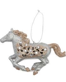 BB Ranch Running Glitter Horse Ornament, , hi-res
