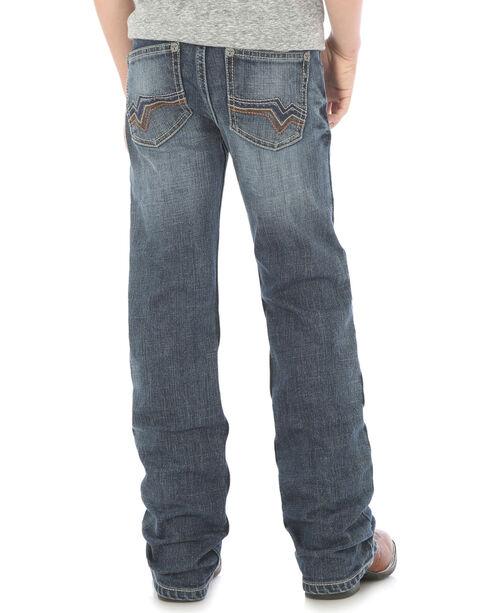 Wrangler Boys' Indigo 20X No. 42 Vintage Slim Boot Cut Jeans - Husky, Indigo, hi-res