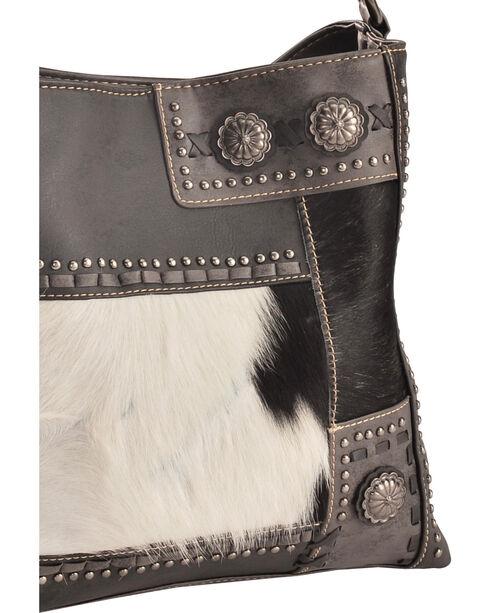 Trinity Ranch Women's Black Patchwork Concealed Carry Hobo Bag, Black, hi-res