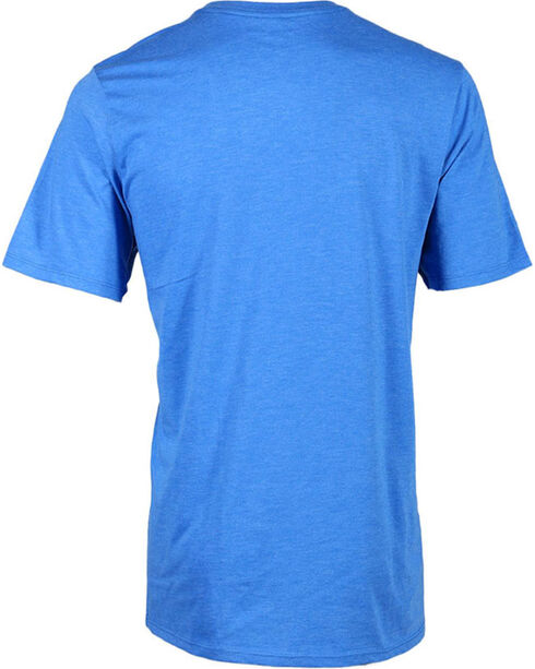 Hurley Men's Faded Logo Tee, Royal Blue, hi-res
