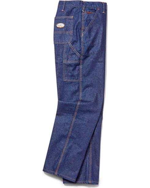 Rasco Men's Flame Resistant Carpenter Jeans, Indigo, hi-res