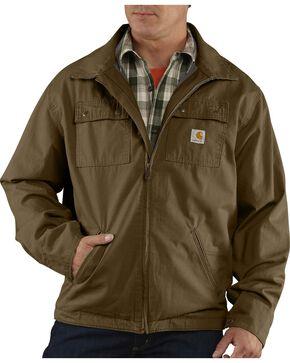 Carhartt Men's Flint Jacket, Brown, hi-res