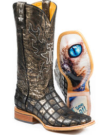 Tin Haul Women's Meow Western Boots, , hi-res