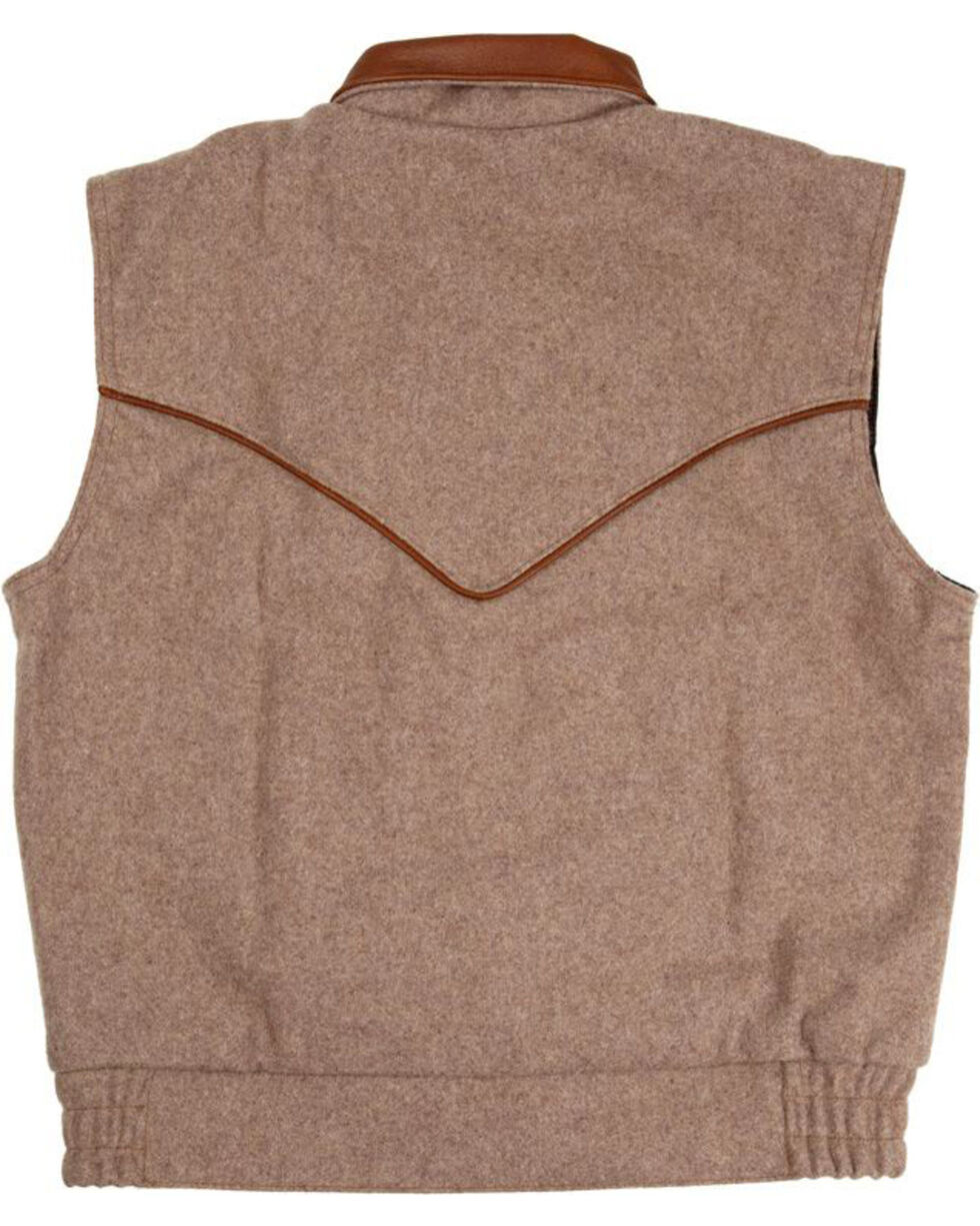 Schaefer Outfitter Men's Taupe Competitor Vest , Taupe, hi-res
