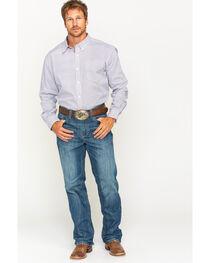 Cody James Men's Frisco Diamond Patterned Long Sleeve Shirt, , hi-res