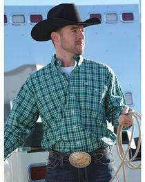 Cinch Men's Weave Flaps Long Sleeve Shirt, , hi-res