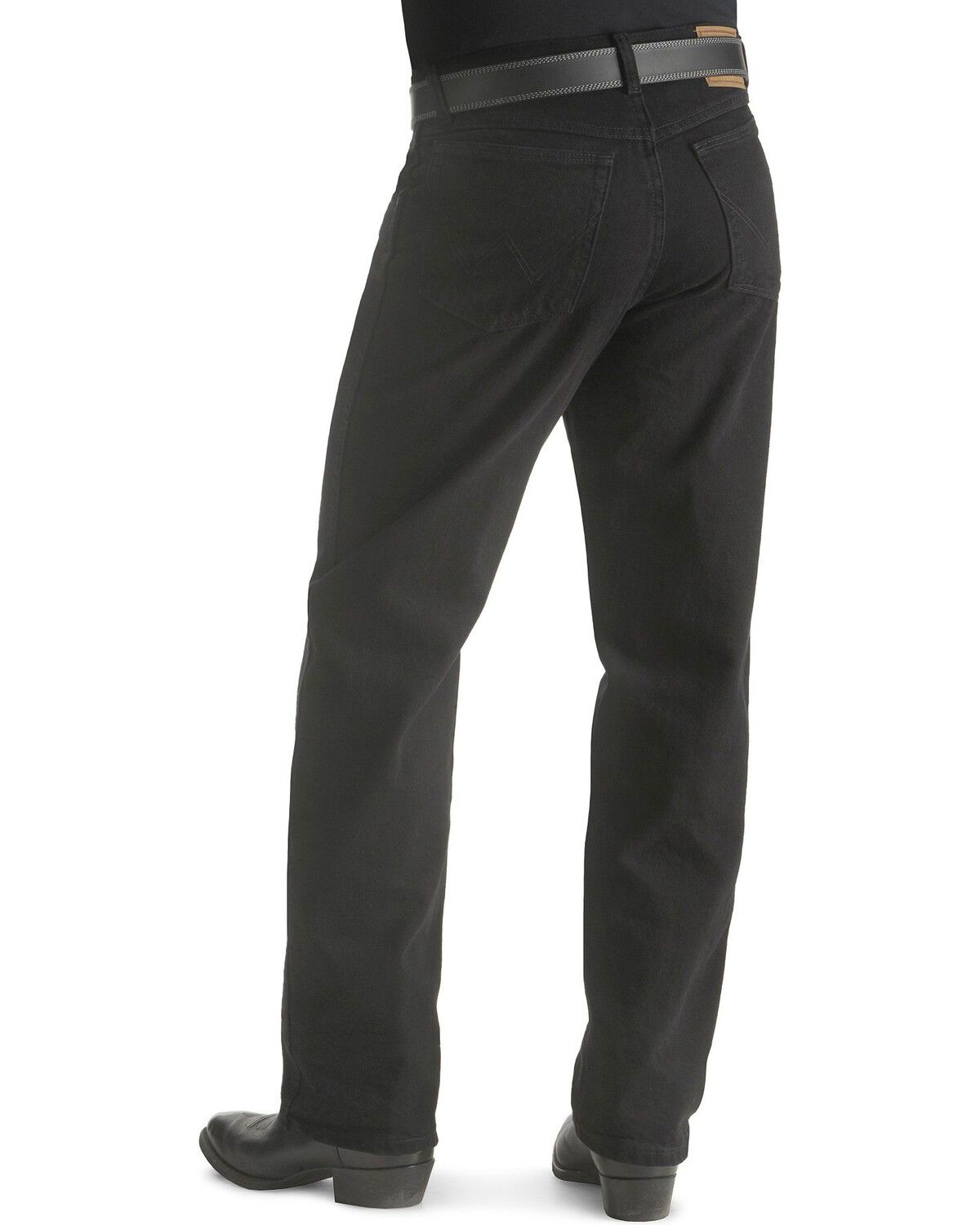 Attractive Wrangler Rugged Wear Menu0027s Relaxed Fit Jeans, Black, Hi Res