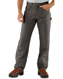 Carhartt Canvas Carpenter Loose Fit Five Pocket Work Pants, , hi-res