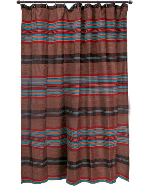 Carstens Canyon View Shower Curtains, Brown, hi-res