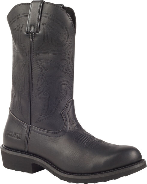 Durango Men's SPR Farm & Ranch Comfort Core Boots, Black, hi-res