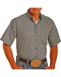 Tuf Cooper by Panhandle Men's Geo Printed Short Sleeve Shirt, , hi-res