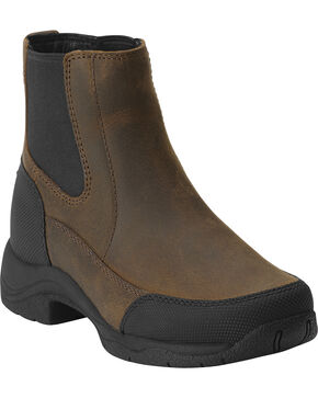 Ariat Kid's Terrain Jod Riding Boots, Brown, hi-res