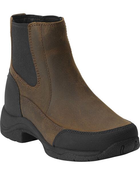 Ariat Kid's Terrain Jod Riding Boots, Brown, hi-res