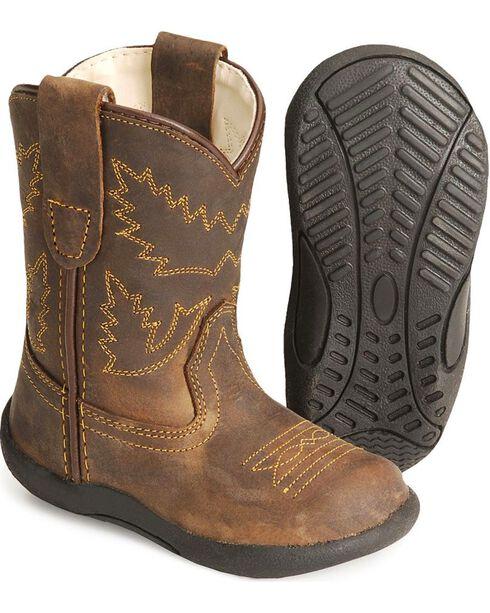 Jama Infant's Tubies Western Boots, Crazyhorse, hi-res