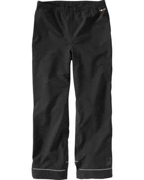 Carhartt Men's Waterproof Equator Pants, Black, hi-res