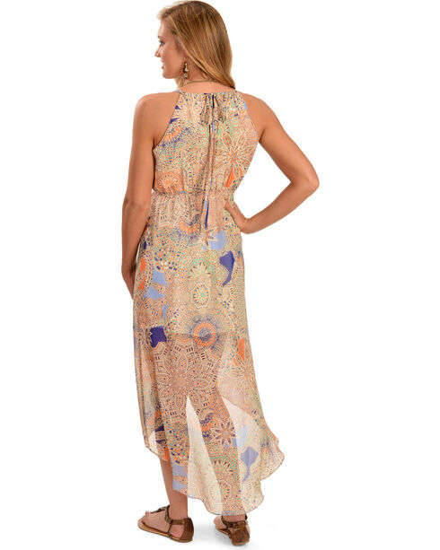 Miss Me Women's High Low Sheer Dress, , hi-res