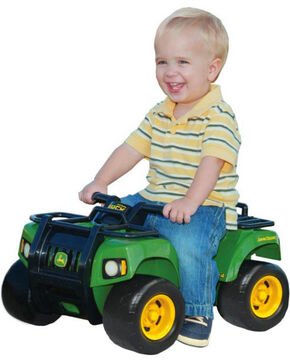 Learning Curve John Deere Sit-N-Scoot ATV, Green, hi-res