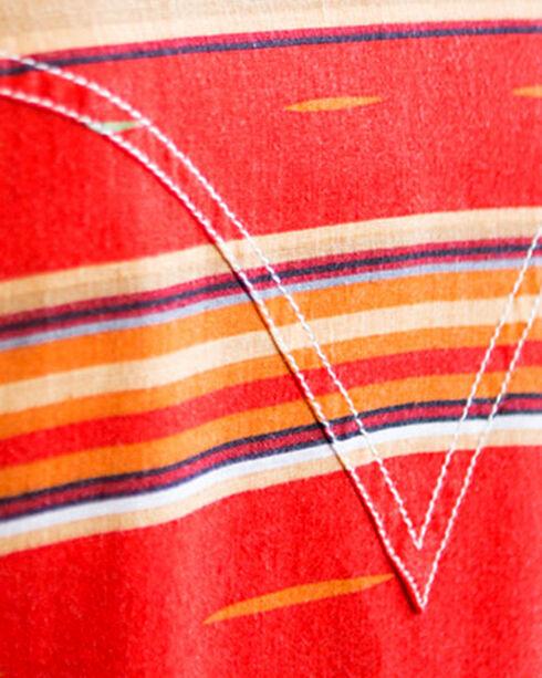Ryan Michael Women's Serape Stripe Dress, Red, hi-res