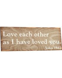 BB Ranch® John 15:12 Wall Decor, , hi-res