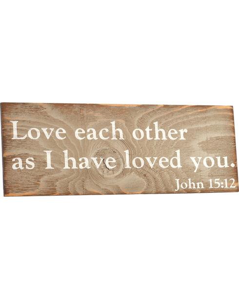 BB Ranch® John 15:12 Wall Decor, No Color, hi-res