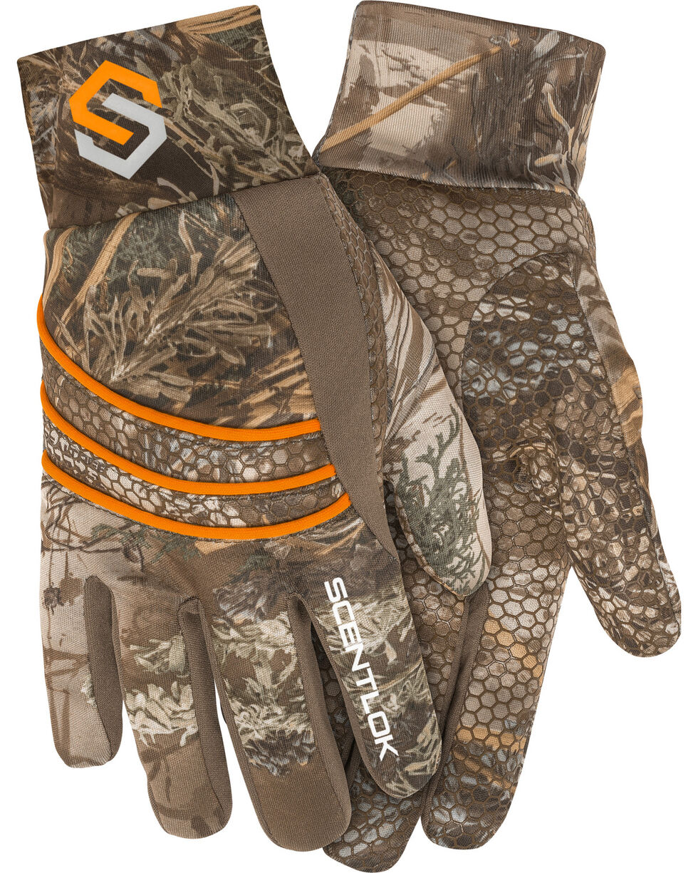 Scentlok Technologies Camo Savanna Lightweight Shooters Gloves , Multi, hi-res