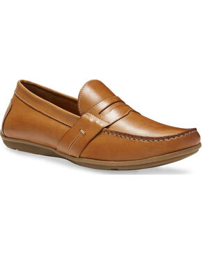 Eastland Men's Pensacola Slip On Loafers - Moc Toe, Camel, hi-res