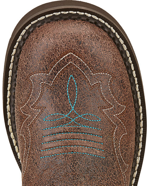Ariat Women's Fatbaby Heritage Harmony Riding Boots, Brown, hi-res