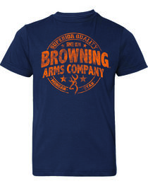 Browning Boys' Superior Quality Short Sleeve Tee, , hi-res