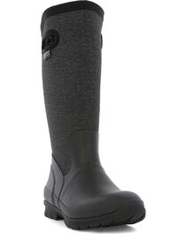 Bogs Women's Black Crandall Waterproof Insulated Boots , , hi-res