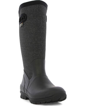 Bogs Women's Black Crandall Waterproof Insulated Boots , Black, hi-res