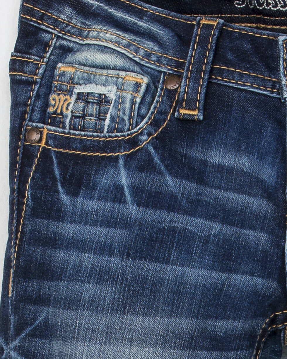Miss Me Girls' Going Rogue Skinny Jeans, Indigo, hi-res