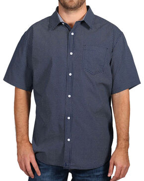 Cody James® Men's Textured Short Sleeve shirt , Navy, hi-res