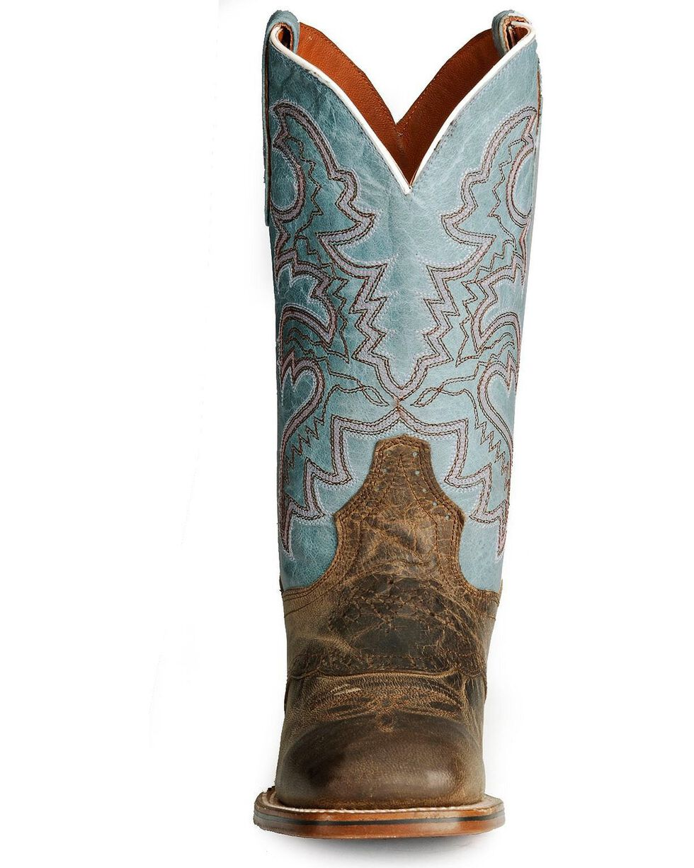 Dan Post Women's San Michelle Cowgirl Certified Western Boots, Sand, hi-res