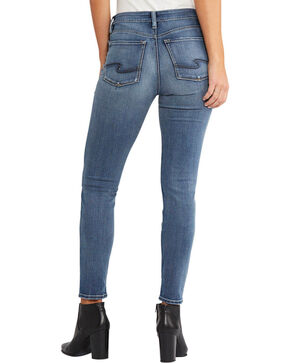 Silver Women's Indigo Bleecker Jeggings, Indigo, hi-res