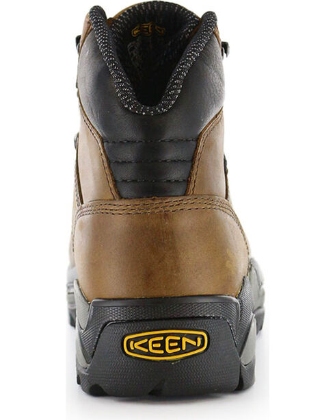 Keen Footwear Men's Cleveland Lace-Up Steel Toe Work Boots, No Color, hi-res