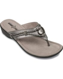 Minnetonka Silverthorne Wedge Sandals, , hi-res