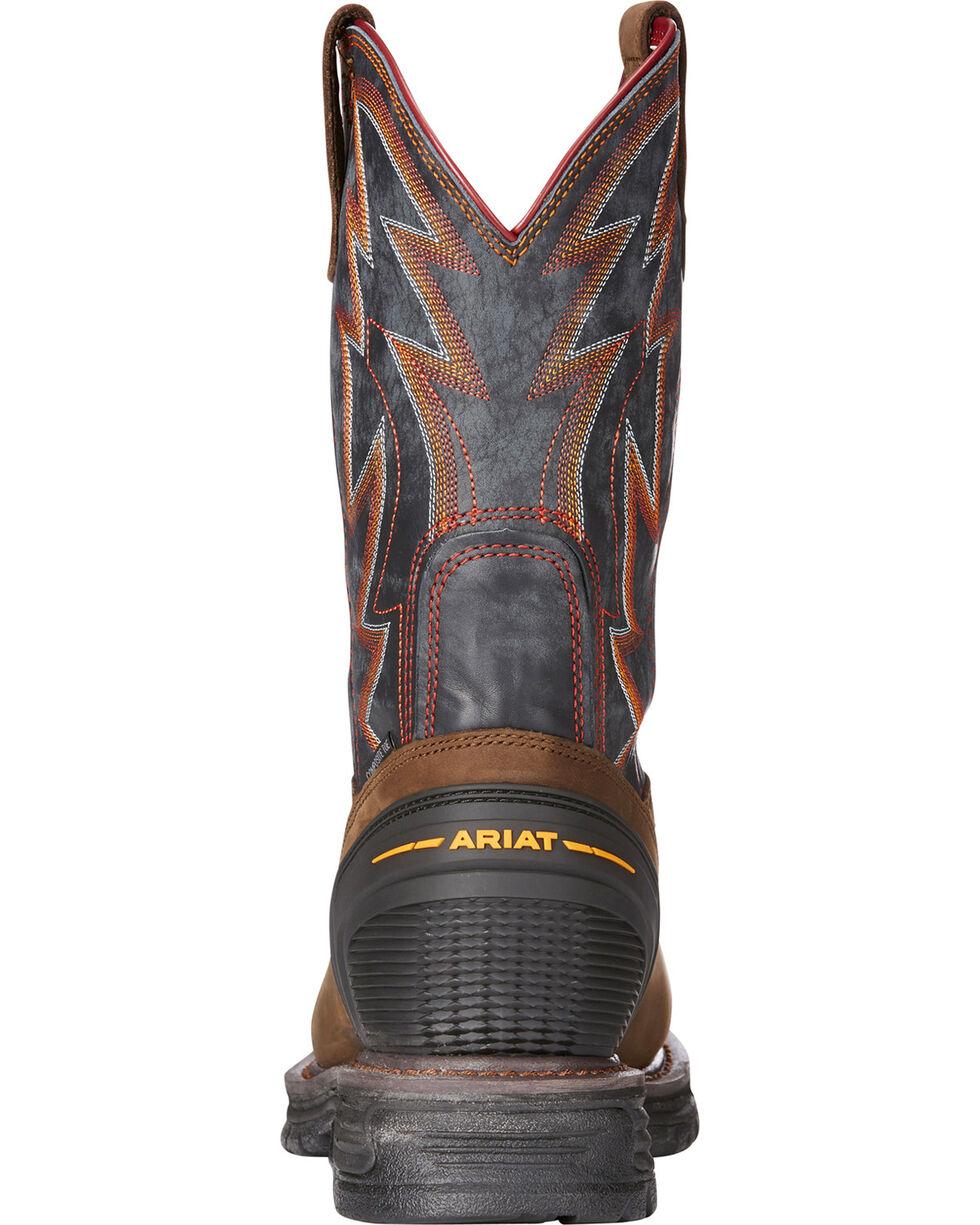 Ariat Men's Brown Catalyst VX Thunder Work Boots - Composite Toe , Brown, hi-res