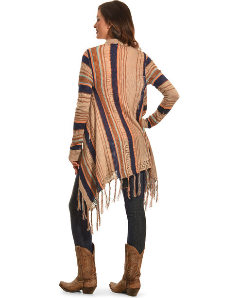 Petrol Women's Earth Wrap Shawl, Natural, hi-res