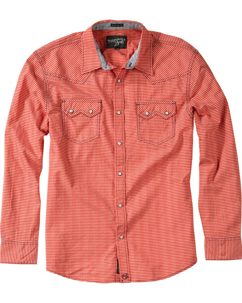 Moonshine Spirit® Men's Embroidered Stripe Long Sleeve Shirt, , hi-res
