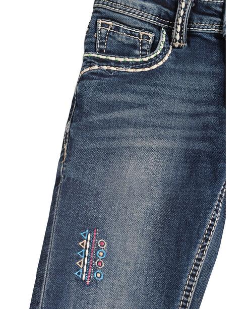 Grace in LA Girls' TeePee Bootcut Jeans, Denim, hi-res