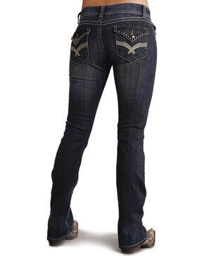 Stetson Women's 818 Contemporary Bootcut Jeans - Plus, Denim, hi-res