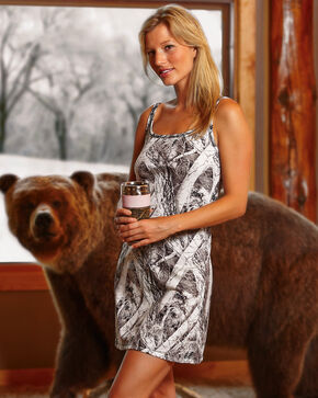 Wilderness Dreams Women's Naked North Snow Camo Nightgown, Camouflage, hi-res