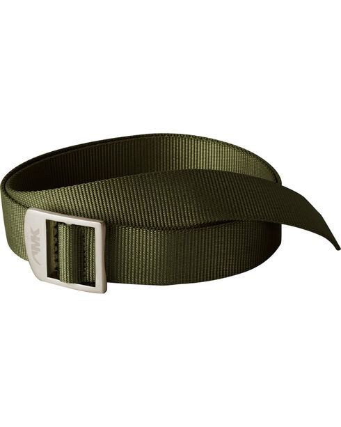 Mountain Khakis Olive Green Webbing Belt , Olive, hi-res