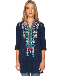 Johnny Was Women's Azten Blouse, , hi-res