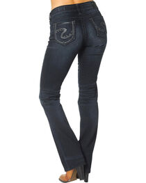 Silver Jeans Women's Suki Mid Slim Boot Cut Jeans  , Denim, hi-res