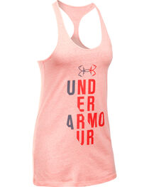 Under Armour Women's Pink Graphic Tank Top, , hi-res